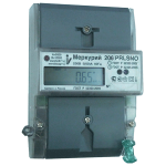 Счетчик электроэнергии однофазный многотарифный СЭ1-60/5 Т4 D ЖК 206 RN 230В RS485 оптопорт (206 RN)